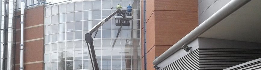 Industrial Window Cleaning Nottingham