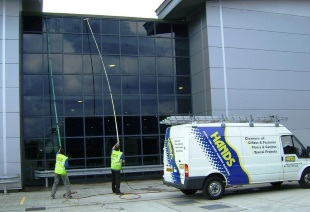 Low Level Window Cleaning