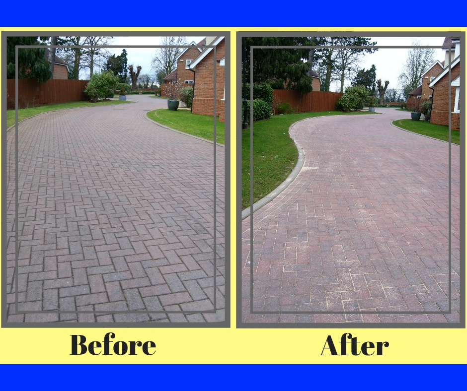 Pressure Washing Derby - Before & After